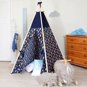 Planets Teepee Tent