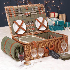 Personalised Champs Elysées Family Picnic Hamper
