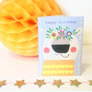 Happy Birthday Animal Selfie Polar Bear Card