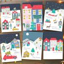 Christmas Scenes Greeting Card Pack