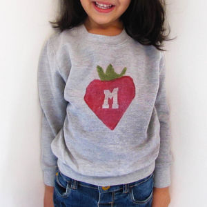 Personalised Potato Print Sweatshirt - clothing