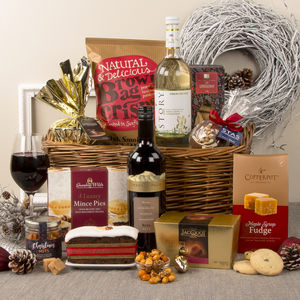 Season's Greetings Classic Christmas Hamper - chocolates & confectionery
