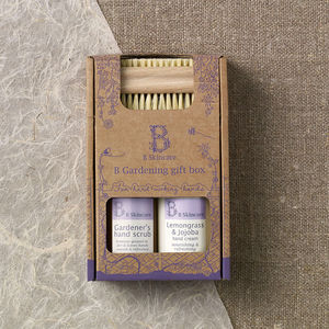 Gardening Hand Care Gift Set - organic beauty