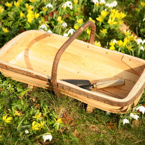 Wooden Flower Trug In Sussex Style Design 20' x 12' Ft6
