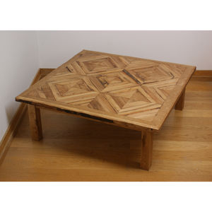 British Made Reclaimed Oak Coffee Table
