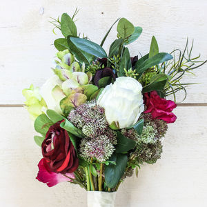 The Charley Artificial Flower Bridal Bouquet - artificial flowers