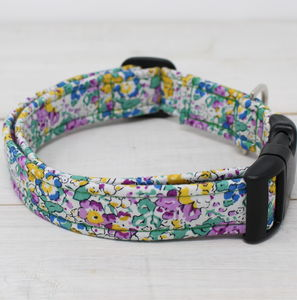 Esme Liberty Fabric Dog Collar