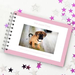 A Book All About My Dog - personalised
