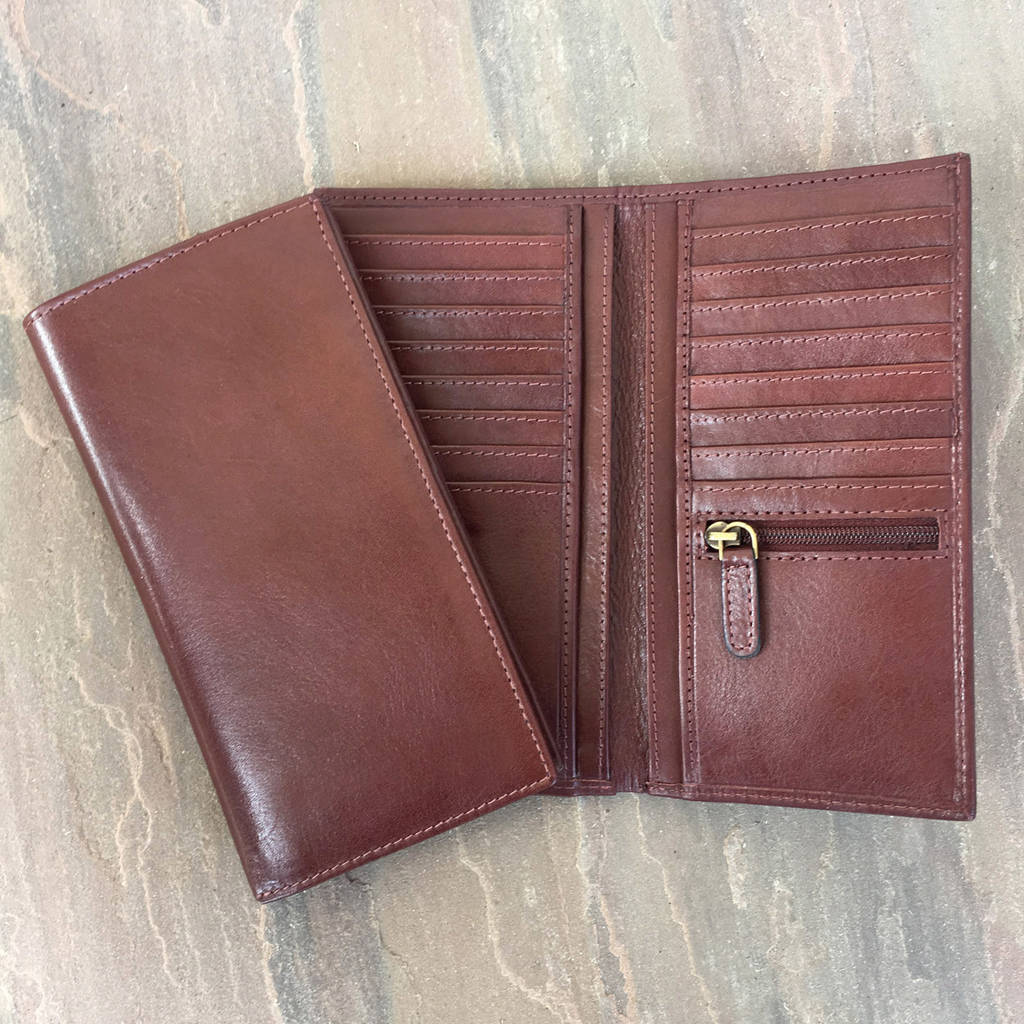 ea7c2868f914 handmade rfid tall leather wallet by holly rose