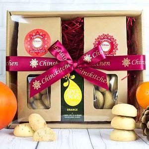 Winter Spice Indian Shortbread Gift Set - cakes & sweet treats