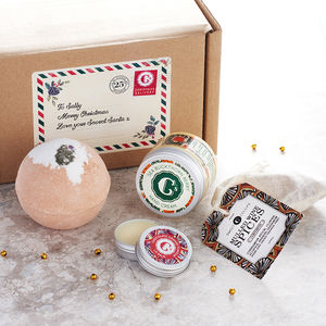 Personalised Festive Gift Set