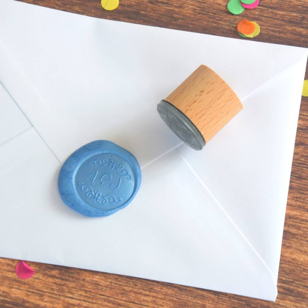 Personalised Decorative Monogram Wax Seal Stamp