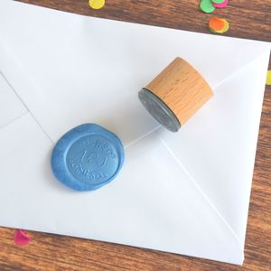 Decorative Monogram Wax Seal Stamp - wax seals