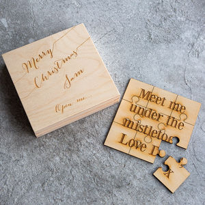 Personalised Christmas Card Puzzle - cards