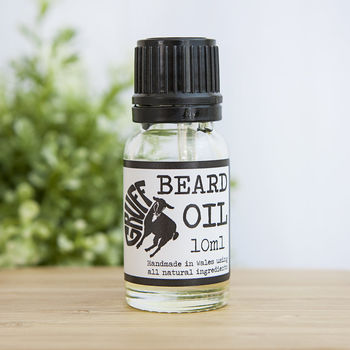 Sweet Orange, Mint And Coconut Nourishing Beard Oil