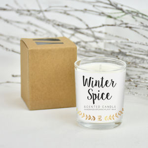Christmas Scent Winter Spice Candle - what's new