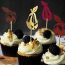 Autumn Cupcake Toppers