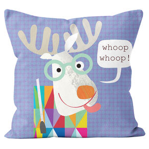 Personalised Moose Cushion