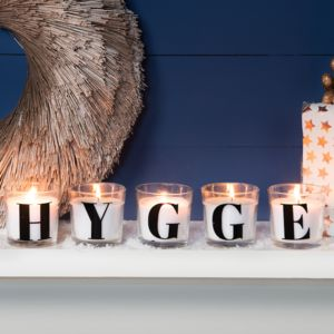 Personalised Serif Font Letter Scented Candles