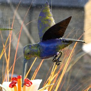Hummingbird Garden Sculpture