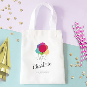 Personalised Birthday Party Bag
