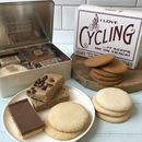 Cyclist's Tin Full Of Treats