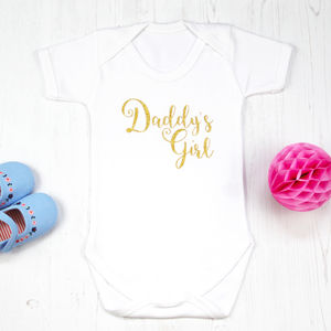 First Father's Day Sparkle Onesie
