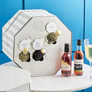 Personalised Wine Hat Box - mother's day gifts