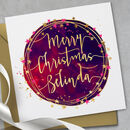 Personalised Christmas Greeting Card