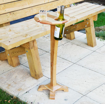 Wine Picnic Table With A Base
