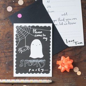 Halloween Party Invitations - children's parties