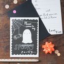 Halloween Party Invitation Pack