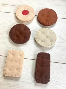 Pretend Play Felt Food Biscuit Selection - pretend play & dressing up