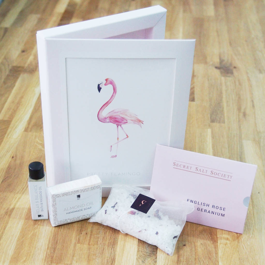 Valentines Night In Card And Mini Pamper Gift Set