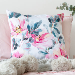 Floral Cushion - living room