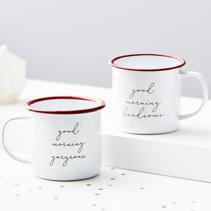 Personalised Message Enamel Mug - view all new