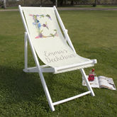 Personalised Letter Beach And Garden Deckchair - what's new
