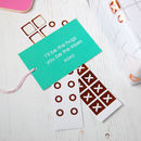 Noughts and Crosses Gift Tags