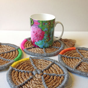 Rope Coaster Kit - sewing & knitting