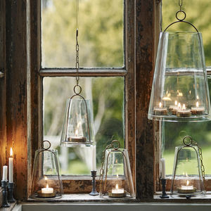 Hanging Brass Sky Lantern - lights & lanterns