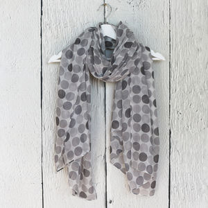 Colourful Spot Scarf - women's accessories sale