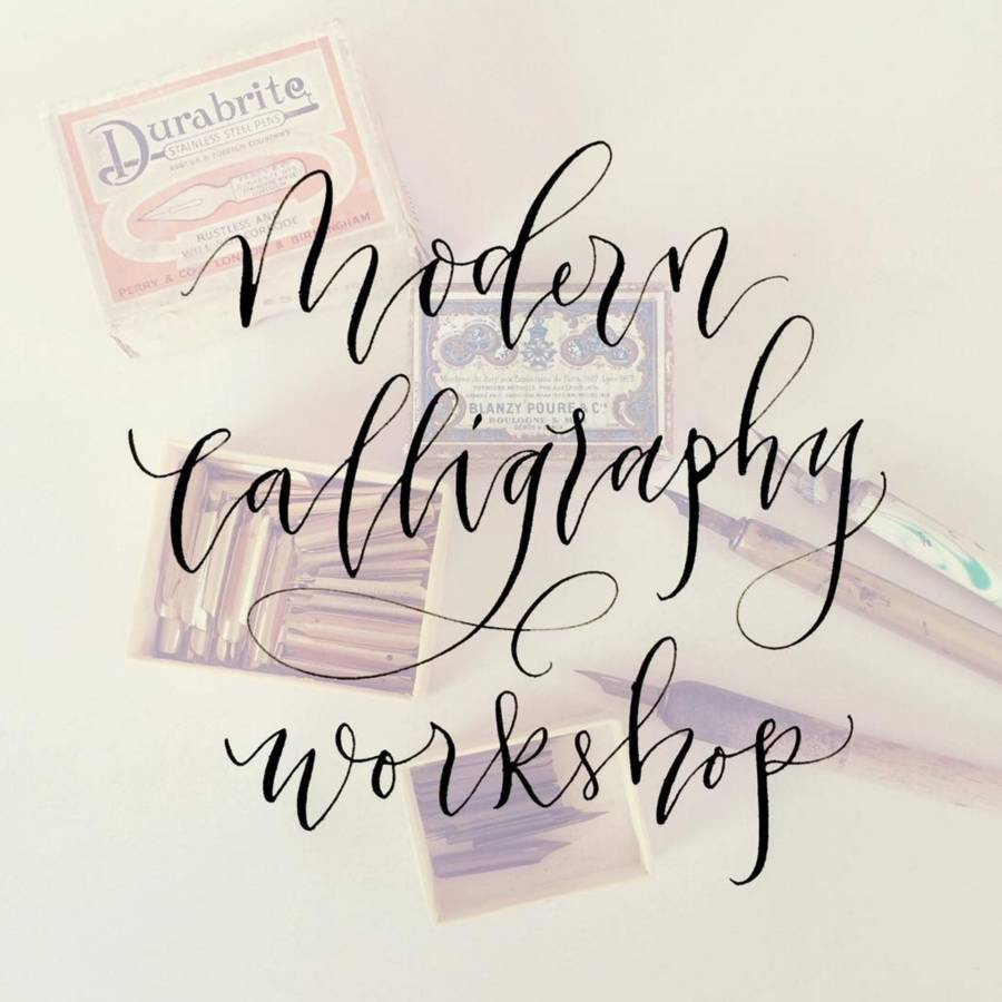 Beginners 39 Modern Calligraphy Workshop By Imogen Owen