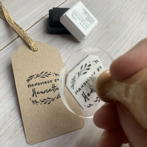 Personalised Handmade Stamp