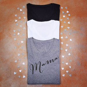 Personalised Mama T Shirt