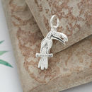 Silver Toucan Tropical Charm