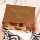 Luxury Personalised Birthday Gift Box For Her