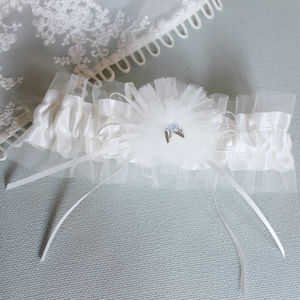 Personalised Bridal Garter