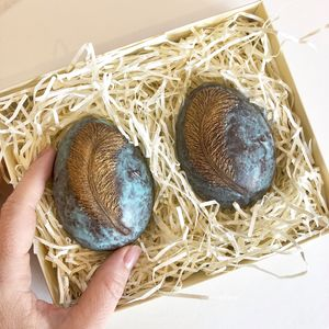 Mini Ostrich Chocolate Easter Eggs - chocolates & confectionery