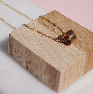 Gold Ring Necklace - necklaces & pendants