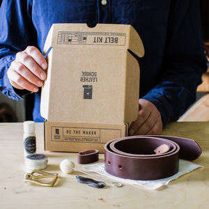 Make Your Own Belt Kit - gifts for him